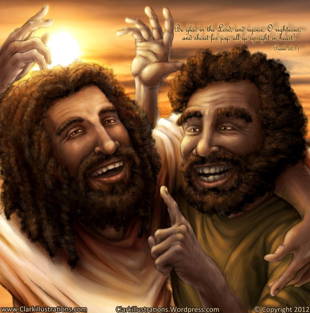 Jesus & Apostle