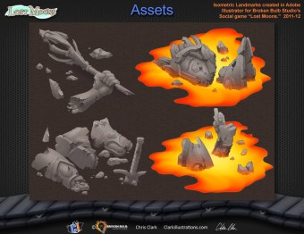 Lost Moons Lava Assets (Broken Bulb)