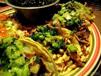 Old Towne Grill Street Tacos