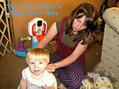 Cutting a Baby Boy's Hair by Clarks Condensed
