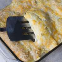 Easy Green Chile Enchiladas
