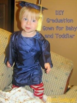 DIY Graduation Cap and Gown