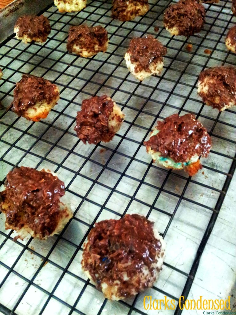 Almond Joy Coconut Macaroons by Clarks Condensed