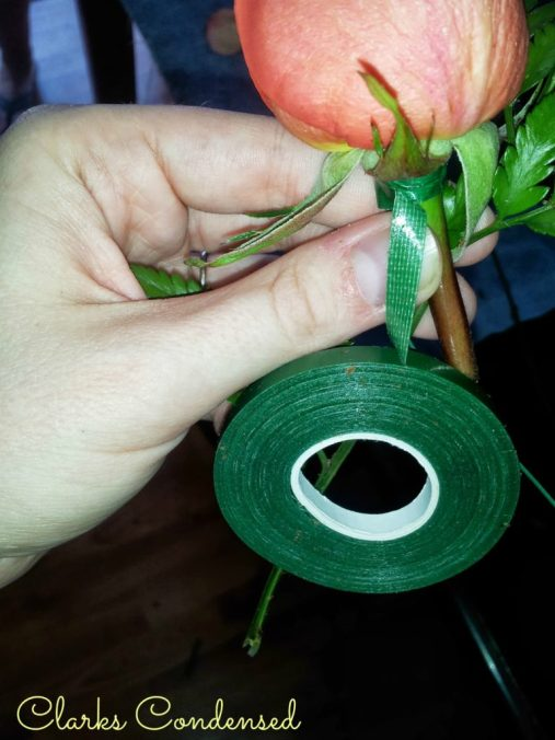 DIY Boutineers -- Perfect for Weddings or any formal event #clarkscondensed #wedding #diy