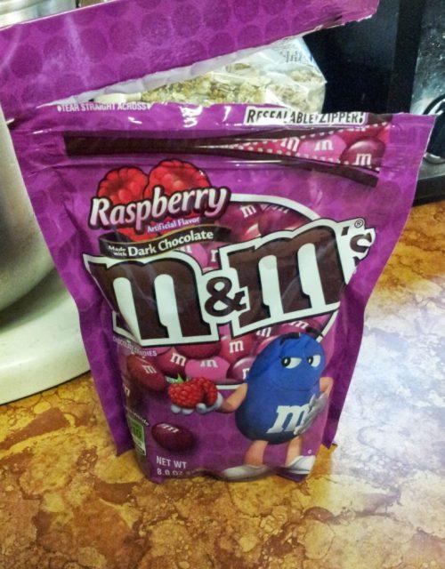 Raspberry M&Ms