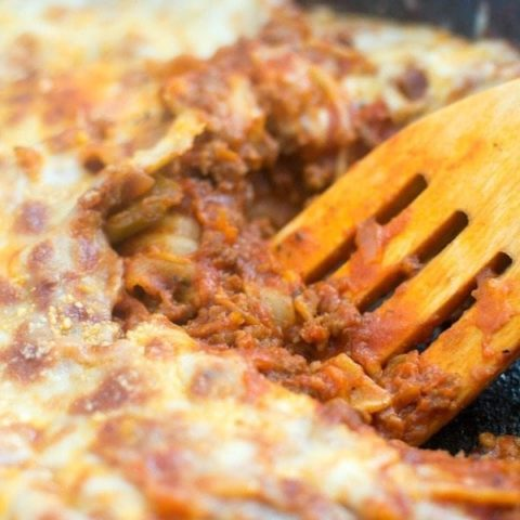 {{30 Minute}} One Skillet Lasagna