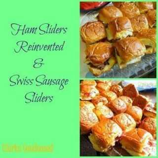 Swiss Sausage Sliders