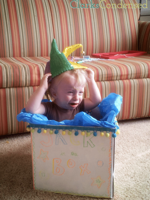 DIY Jack-in-the-Box Costume by Clarks Condensed