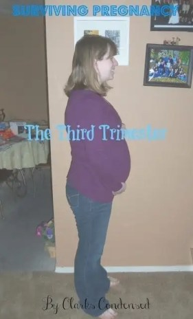 Surviving the Third Trimester of Pregnancy