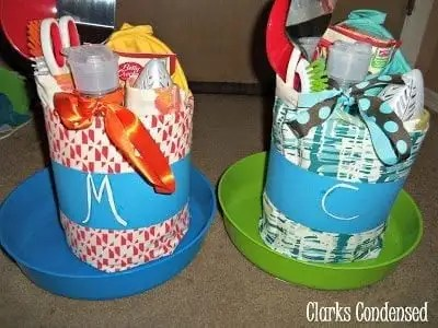 An easy and inexpensive bridal shower gift idea by Clarks Condensed