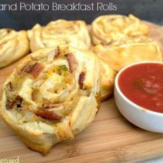 Bacon and Potato Breakfast Roll