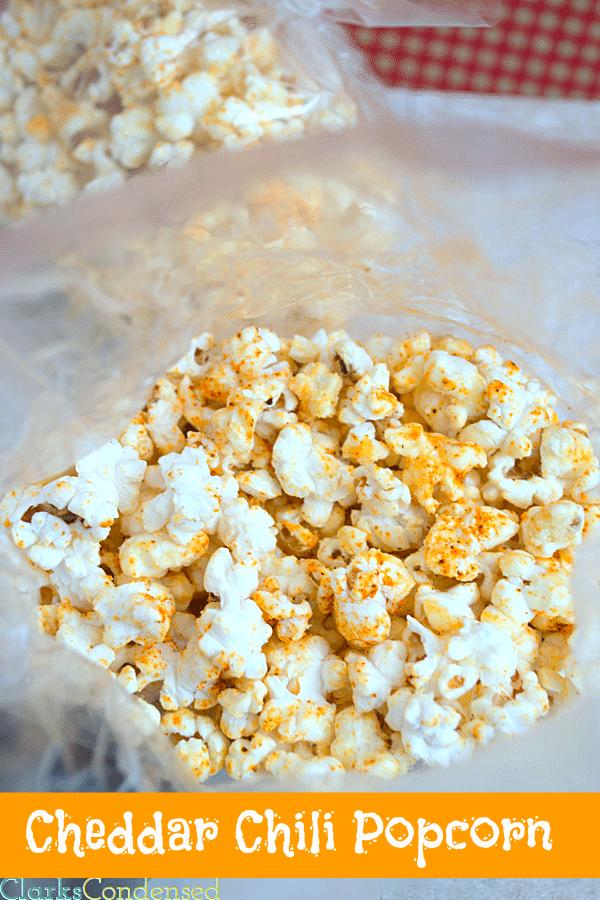 Chili Cheddar Popcorn by Clarks Condensed