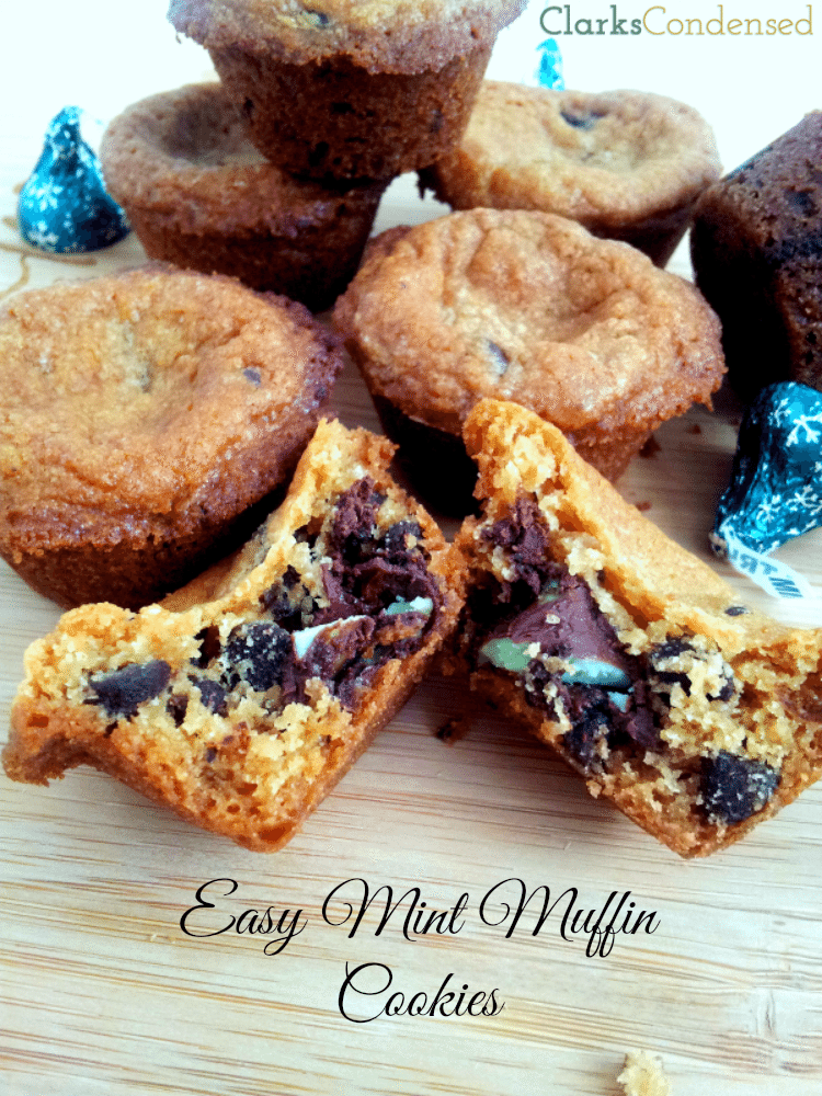 Easy Mint Chocolate cookies  by Clarks Condensed