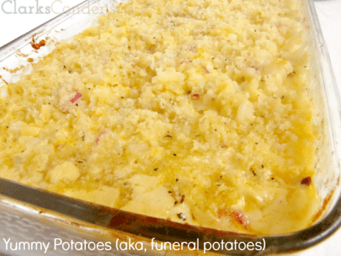Yummy Potatoes (AKA Funeral Potatoes)