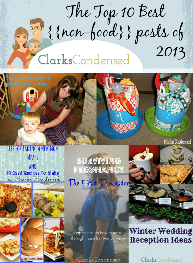 Clarks Condensed Top 10 {{non-food}} posts of 2013