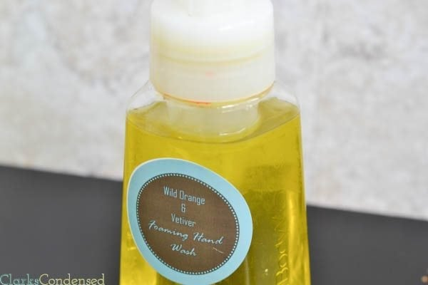 DIY Foaming Hand Soap Tutorial