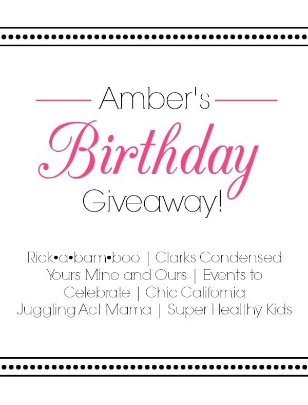 birthday giveaway | rickabamboo.com