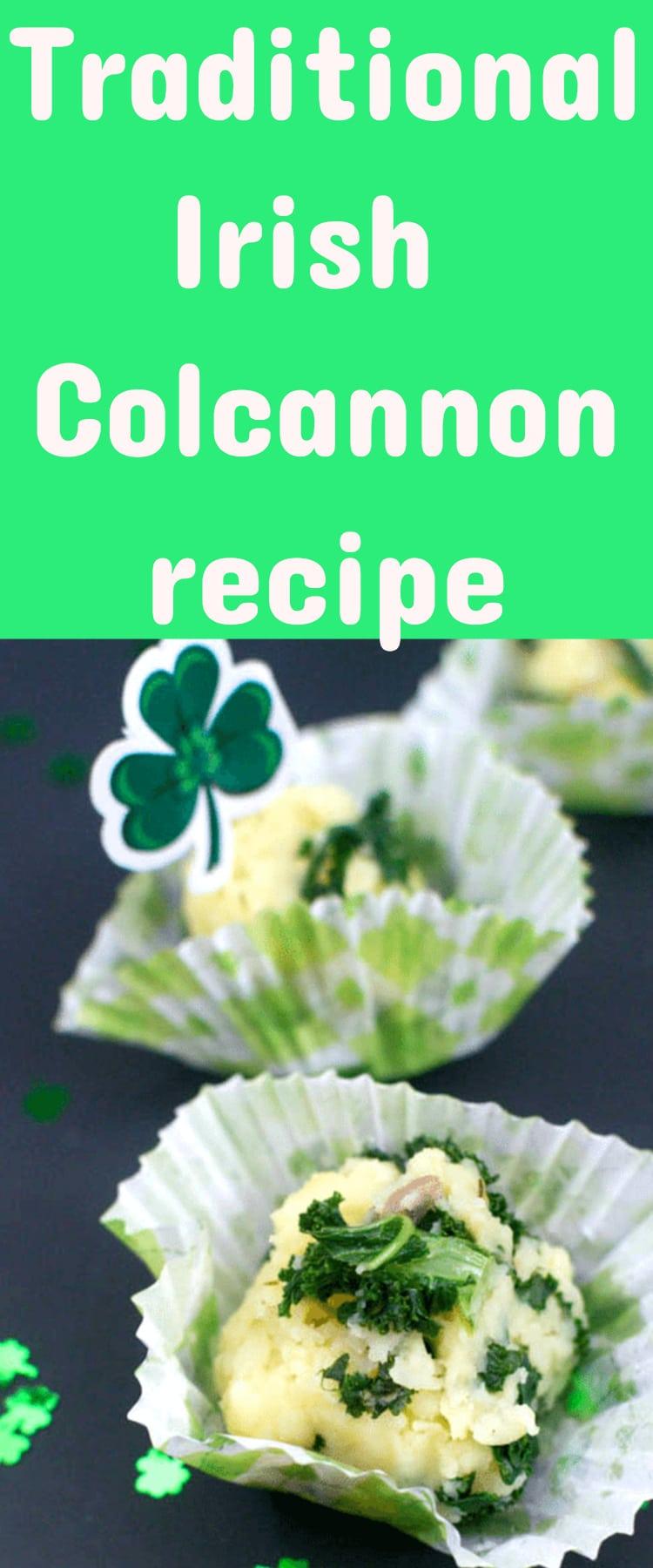 Irish recipes / recipes for st. patrick's day / colcannon / irish colcannon / potatoes / kale and potatoes #stpatricksday #irish via @clarkscondensed