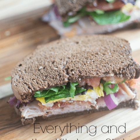 Everything and the Kitchen Sink Sandwich