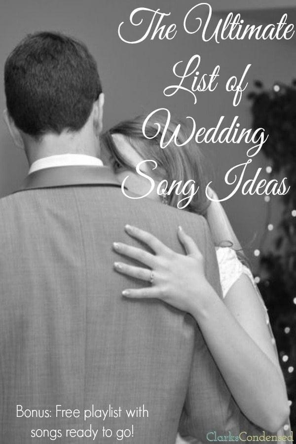 best wedding songs