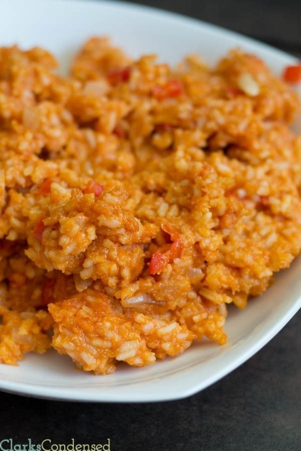 Easy and Sticky Spanish Rice