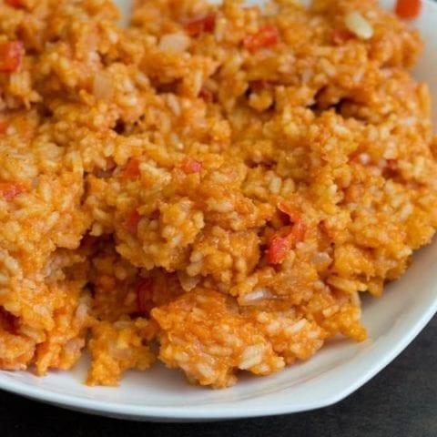 Sticky Spanish Rice