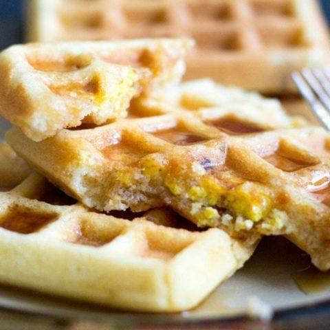 Loaded Waffles