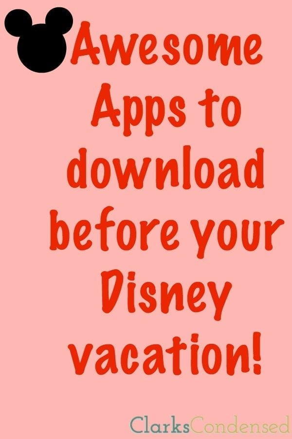Disneyland Apps