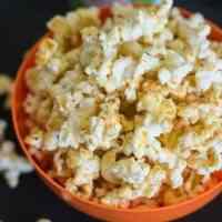 Spiced Pumpkin Popcorn