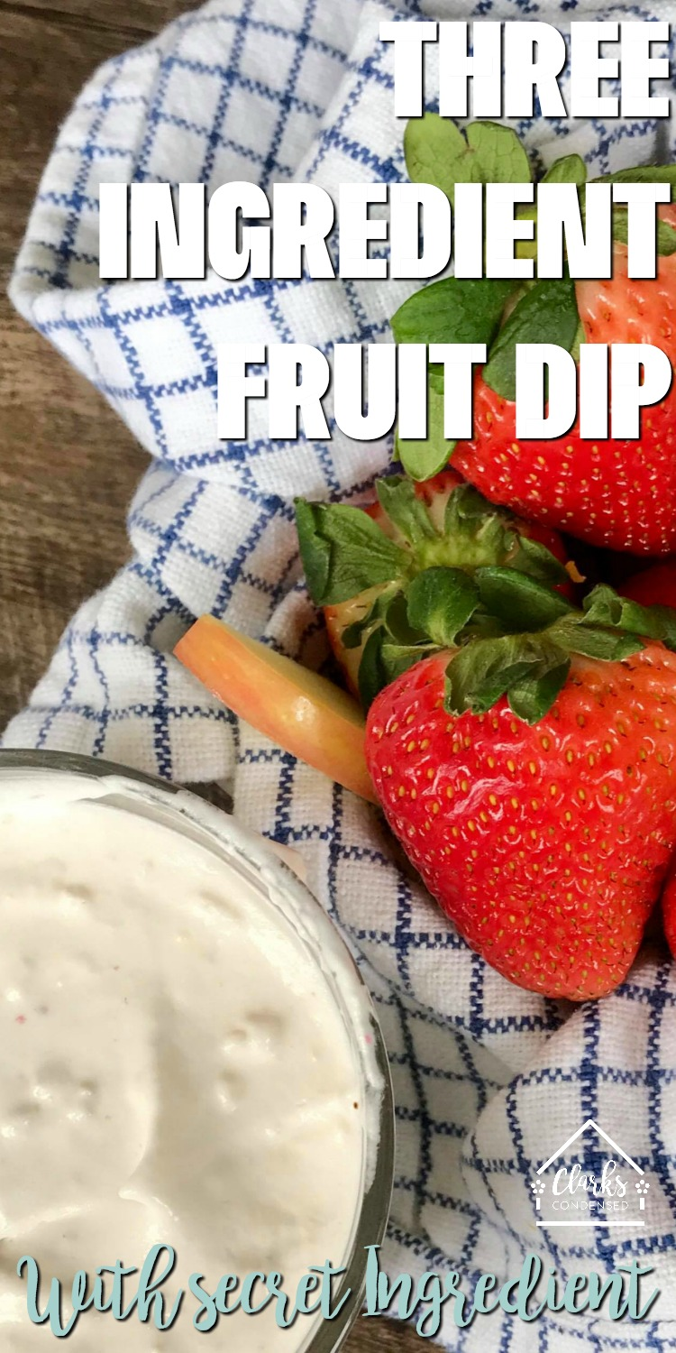 fruit dip / cool whip fruit dip / fruit dip with cool whip / fruit sauce / coconut fruit dip / strawberry fruit dip  via @clarkscondensed