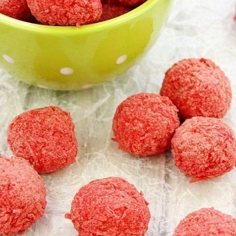 Raspberry Zinger Balls Recipe