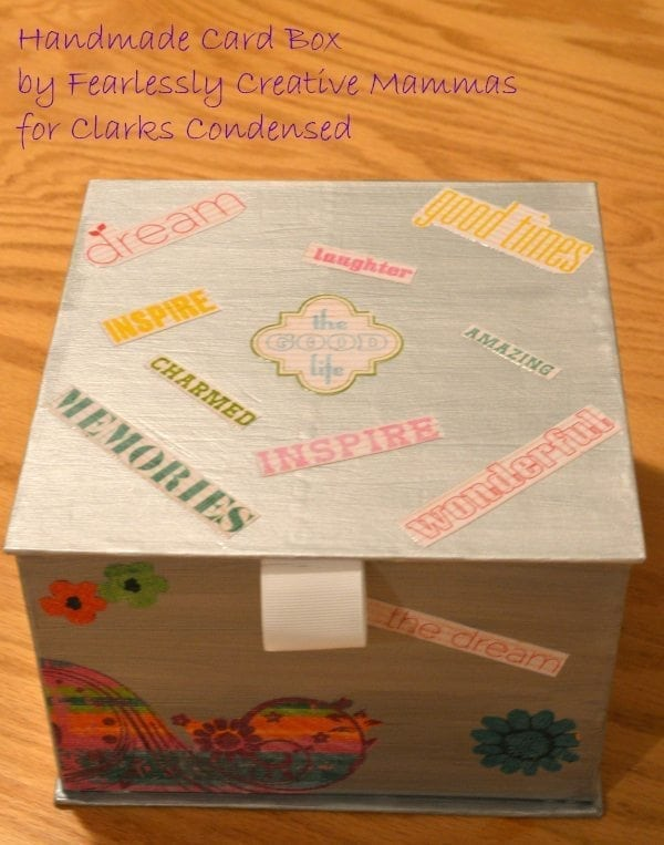 Handmade Card Box