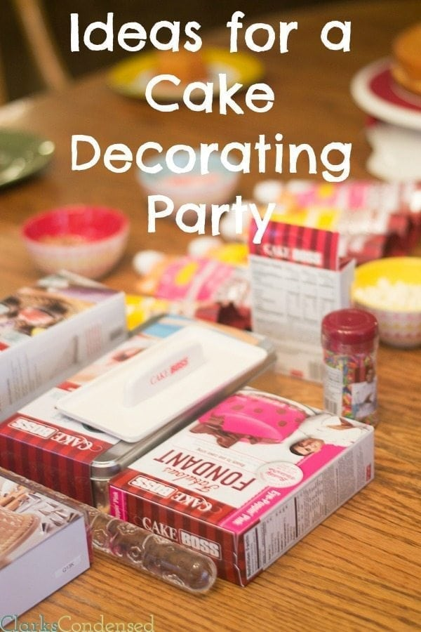A cake decorating party is such a fun party idea for all ages. Here are some ideas for having a memorable cake party.