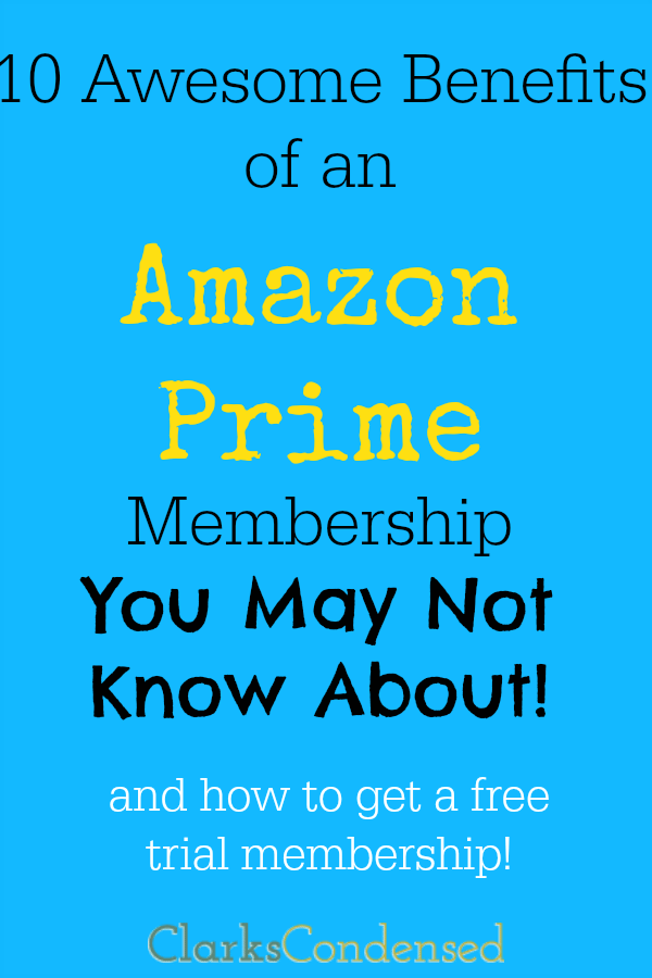 Are you an Amazon Addict? I sure am. Here are 10 awesome benefits of an amazon prime membership (some that you may not know about!)