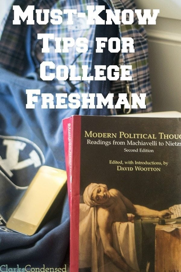 College Freshman Tips / Tips for College Freshman via @clarkscondensed