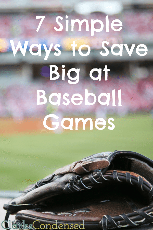 Sporting events can be expensive! Here are a few tips for saving money at Baseball games - America's favorite past time!