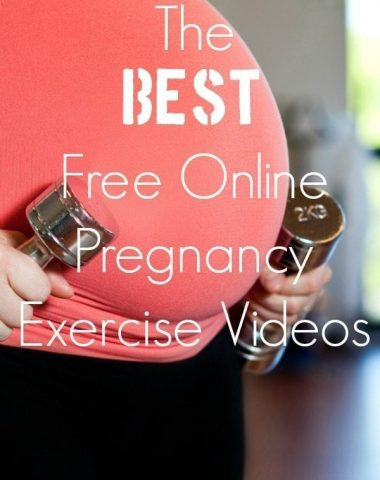 Don't have time to the hit the gym? Here are some of the best free pregnancy workout videos to keep you active during your pregnancy!
