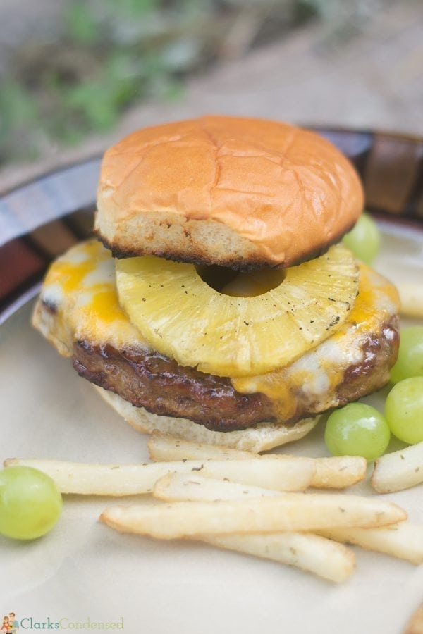 A simple yet tasty Hawaiian Teriyaki Burger recipe - perfect for grilling season!
