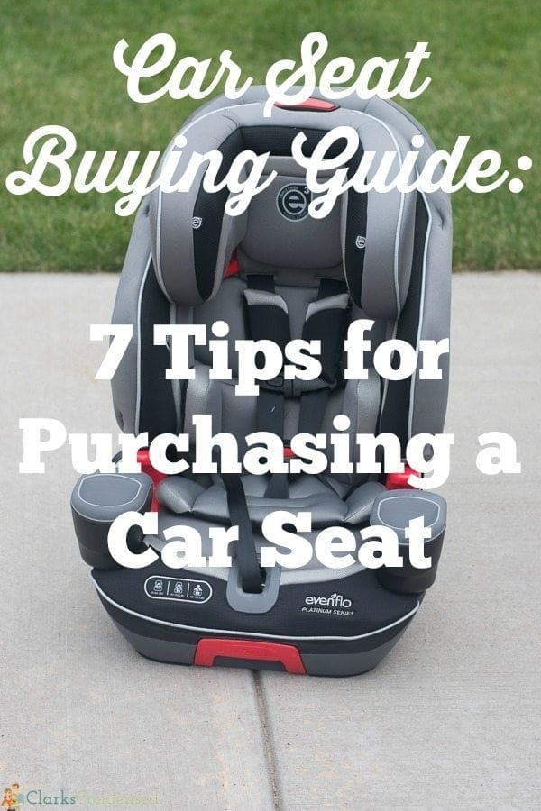 Looking to buy a car seat? Whether you are buying one for your newborn baby or you are upgrading your child to a booster seat, here are a few basic tips for buying a car seat!