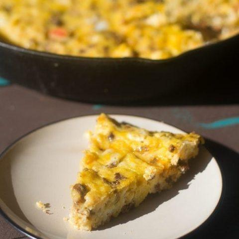 Easy Skillet Breakfast Casserole