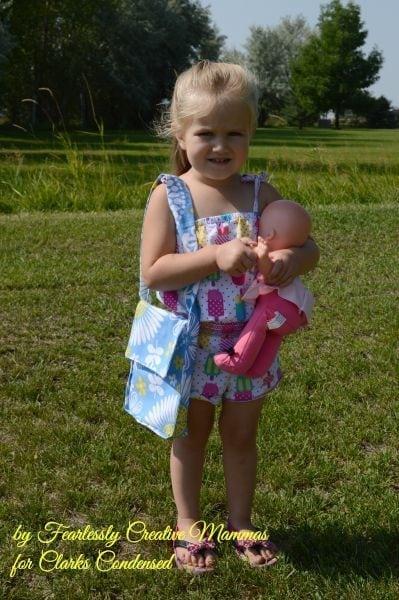 Tote Bag for Little Girl