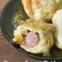 Cheesy Green Chile Pigs in a Blanket