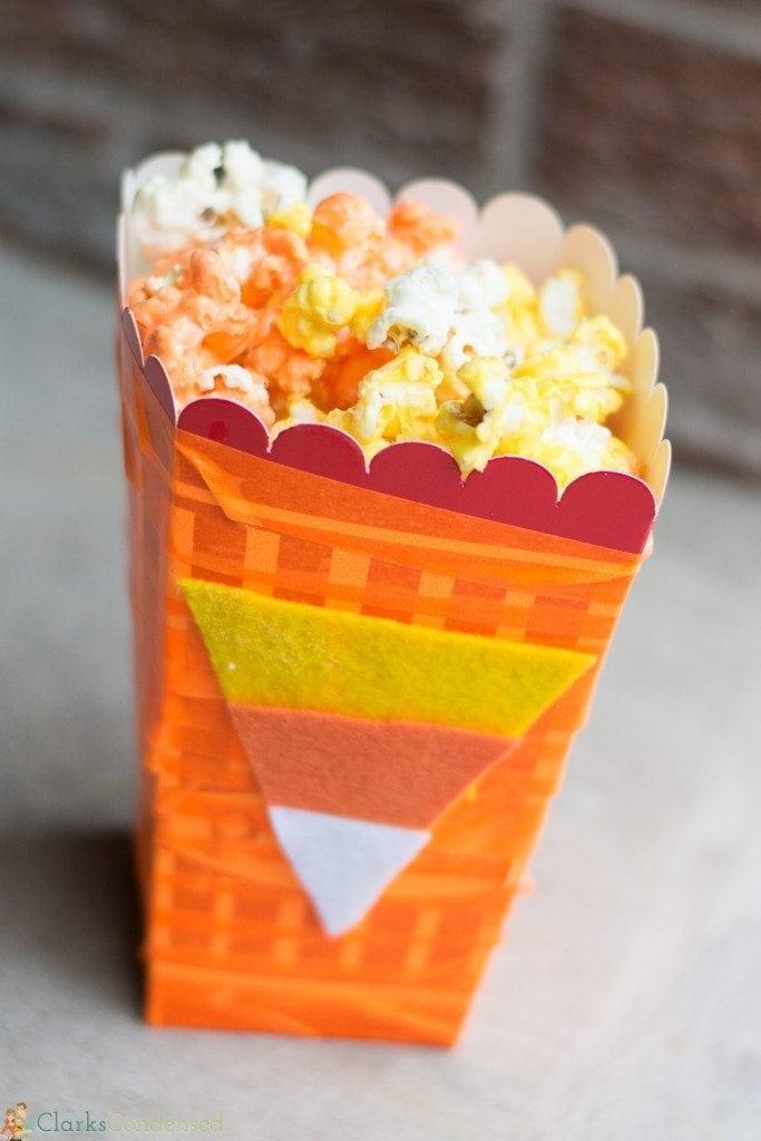 candy corn pop corn