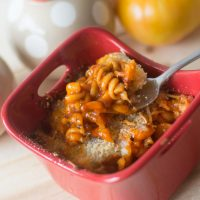 Easy Individual Baked Pasta