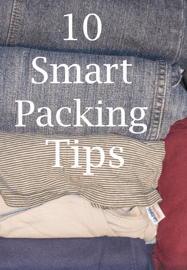 10 smart packing tips for easier traveling!