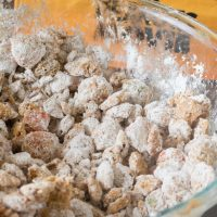 Pumpkin Spiced Butterscotch Puppy Chow and Free Charlie Brown Printable