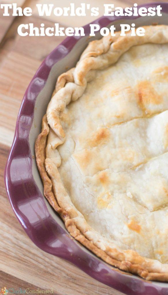 The World S Easiest Chicken Pot Pie Recipe