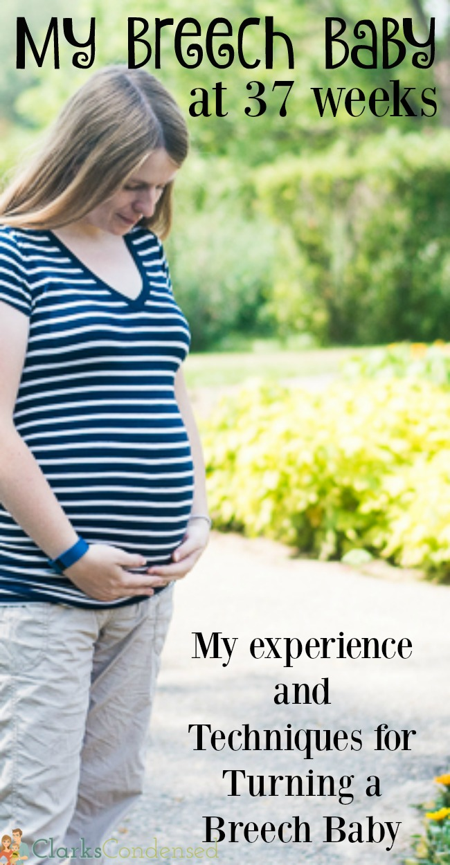 When I was 37 weeks pregnant, we found out our baby was breech. I was determined to do all that I could to get him to turn. Here's my experience and everything you want to know about breech babies - including techniques for turning baby babies!