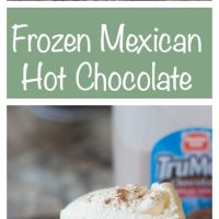 Frozen Mexican Hot Chocolate