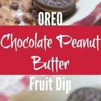 OREO Chocolate Peanut Butter Fruit Dip